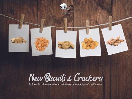 #TheOldSkoolINTRO | New Biscuits, New Crackers!