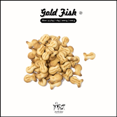 Gold Fish | Biscuit | The Old Skool SG