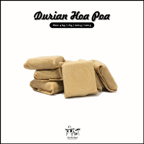 Durian Hoa Poa | Biscuit | The Old Skool SG