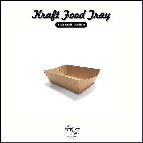 Kraft Food Tray | Packaging | The Old Skool SG