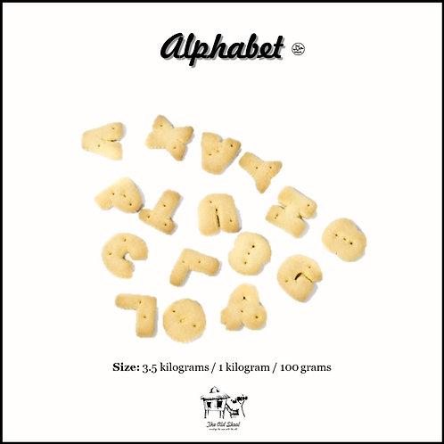 Alphabet Biscuit