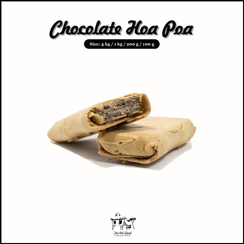Chocolate Hoa Poa | Biscuit | The Old Skool SG