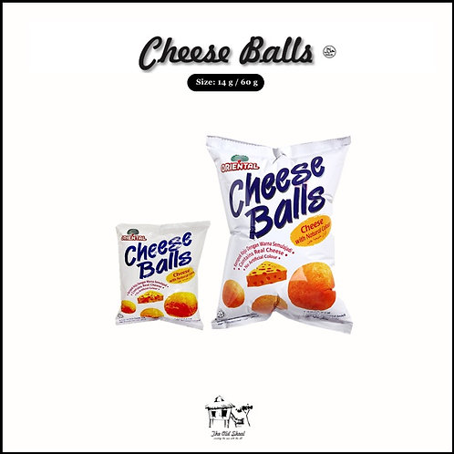 Cheese Balls | Crackers | The Old Skool SG