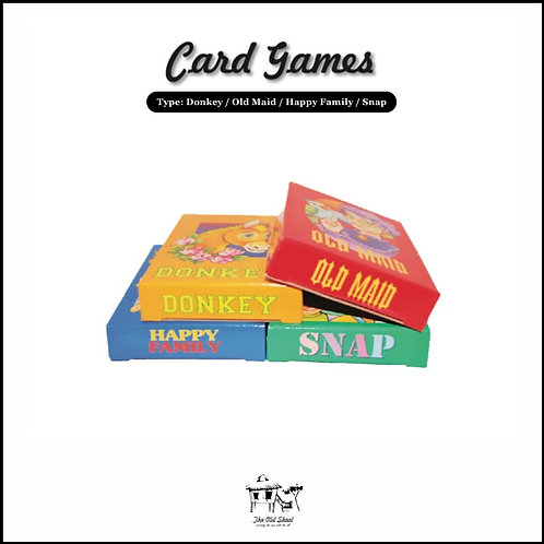 Card Games | Toys | The Old Skool SG