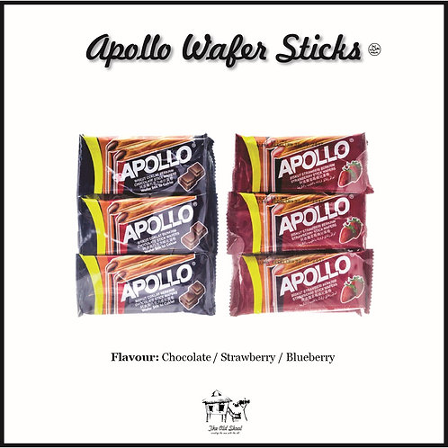 Apollo Wafer Sticks | Biscuit | The Old Skool SG
