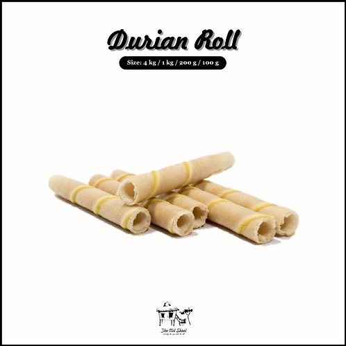 Durian Roll | Biscuit | The Old Skool SG