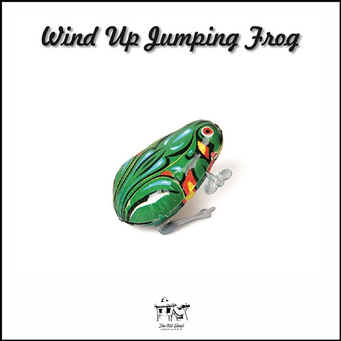 Wind Up Jumping Frog | Toys | The Old Skool SG