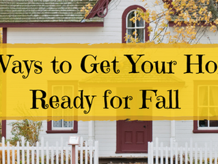 Five Ways To Get Your Home Ready For Fall