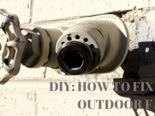 DIY: How to Fix a Leaking Outdoor Faucet!