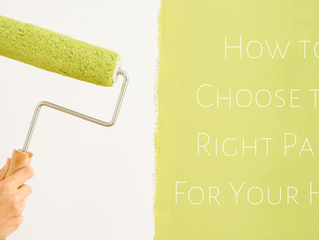 How to Choose the Right Paint For Your Home