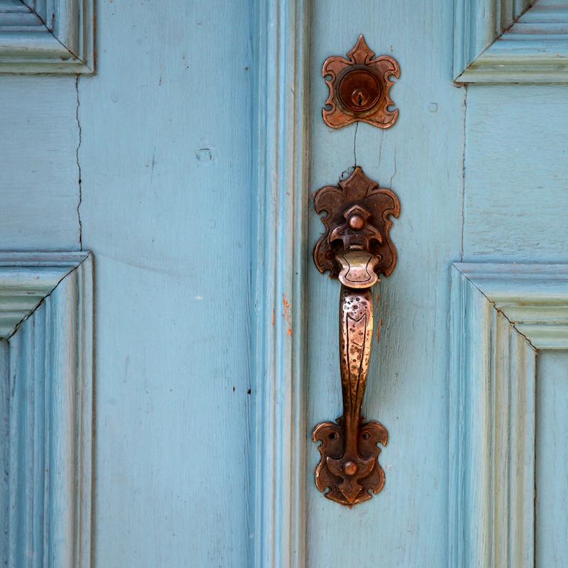 fall home repair winterize home seal drafty door