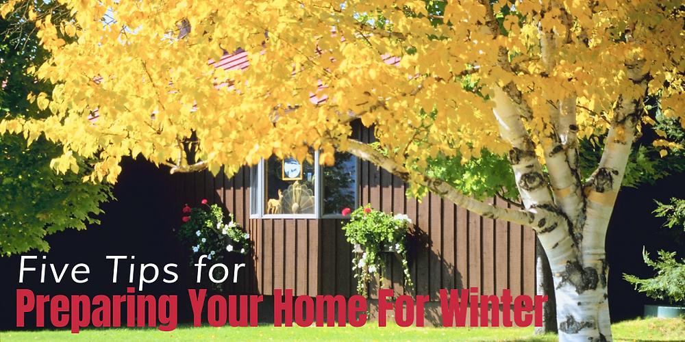 fall home maintenance winterize home