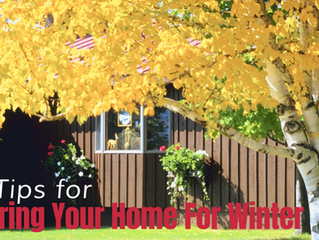 5 Tips for Preparing Your Home For Winter