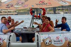 Marina Bay Cruise on a Floating Donut