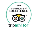 Tripadvisor Certificate of Excellence fo