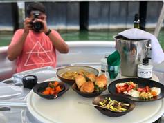 A la Carte Food on the Marina Bay Cruis