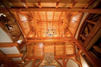 Timber Frame Ceiling