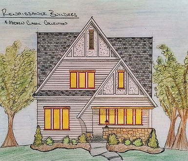 Architectural Rendition of Minneapolis Home