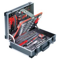TEDURA Alu-Werkzeugkoffer 92-teilig