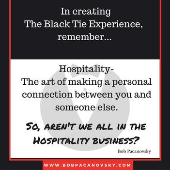 8 Principles of Black Tie Hospitality