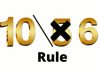 Using the 10/6 Rule (and practicing Social Distancing)