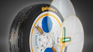 New Tech from Continental: Self-inflating Tyres