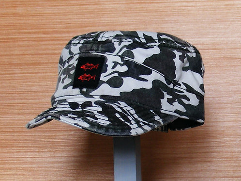 Twin Stripers Camo Hat