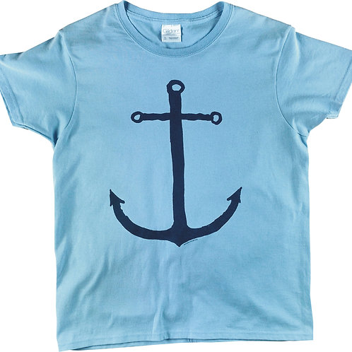 Lady's Dutch Anchor - crew neck