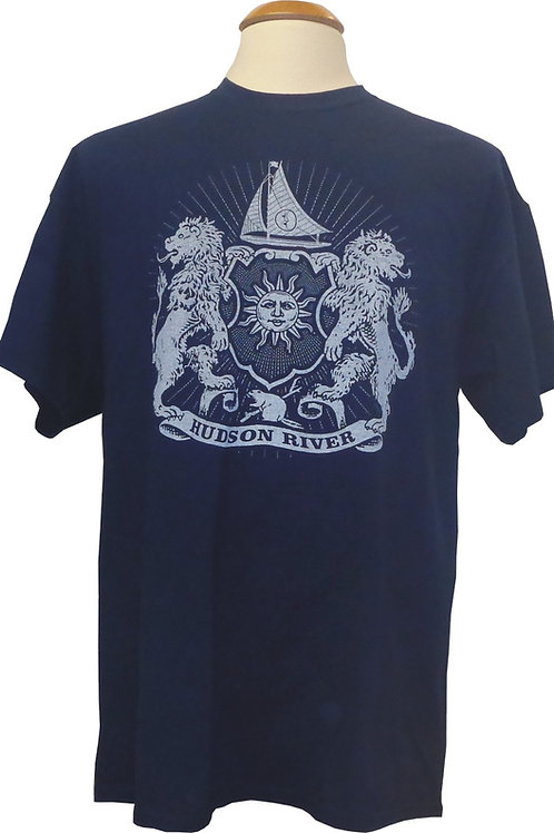 River Arms Tee in Navy