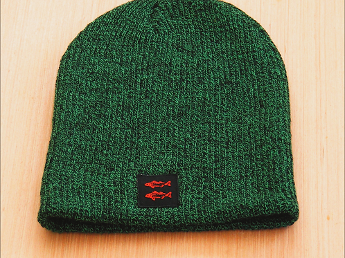 Twin Stripers Slouch Knit hat