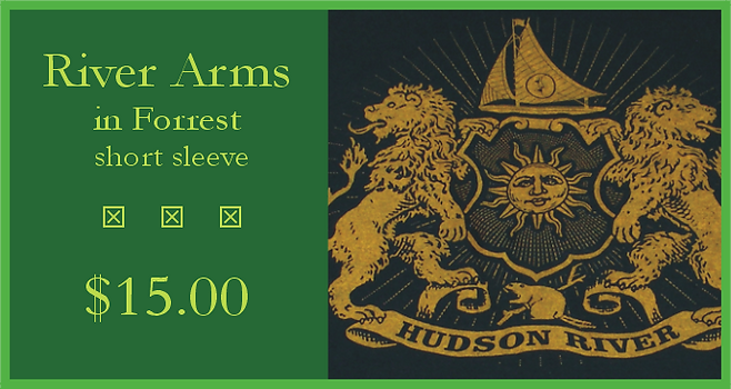 Hudson River t-shirt - River Arms in Forrest
