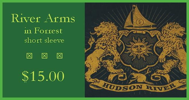 Hudson River t-shirt - River Arms in Forrest