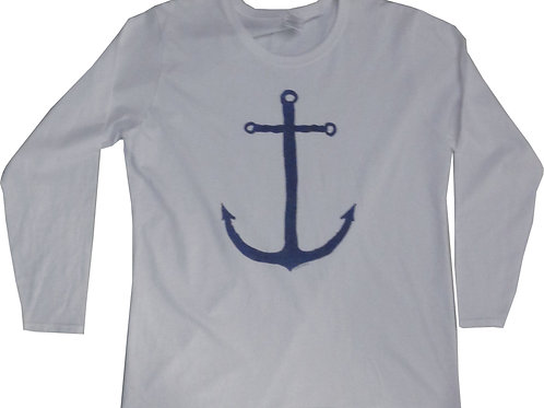 Lady's Dutch Anchor Long Sleeve Shirt