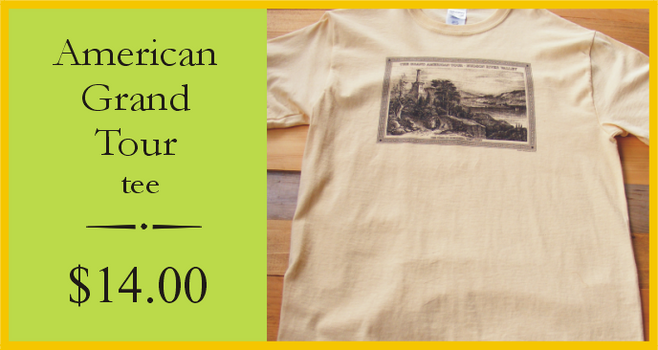 Grand American Tour t-shirt $14.00 from the www.HudsonRiverShop.com