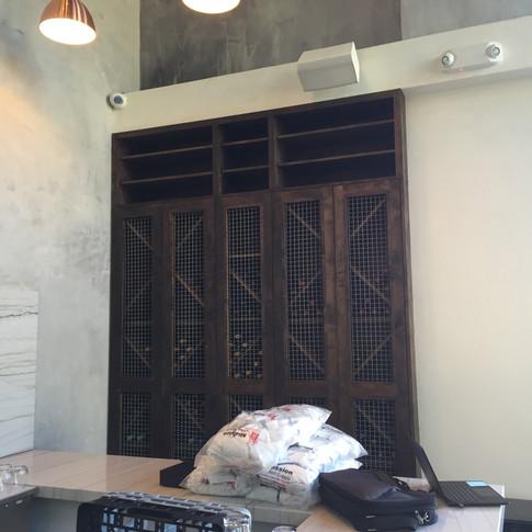 Carve finished Wine cabinet.JPG