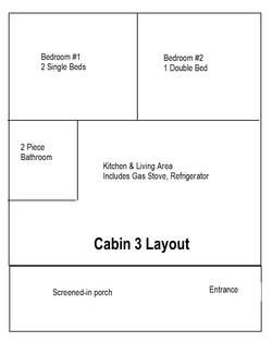 Cabin 3 Layout
