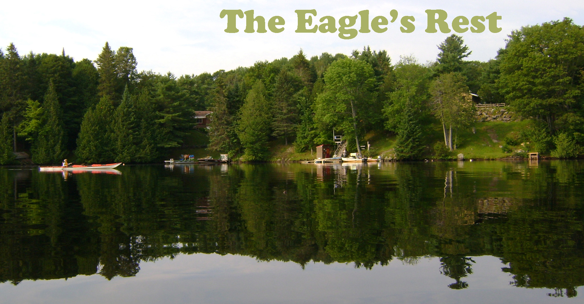 The Eagle's Rest from the water