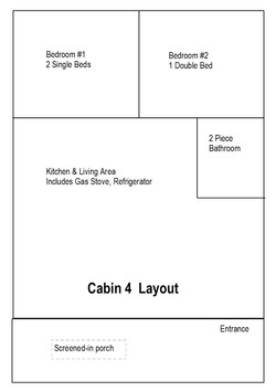 Cabin 4 Layout