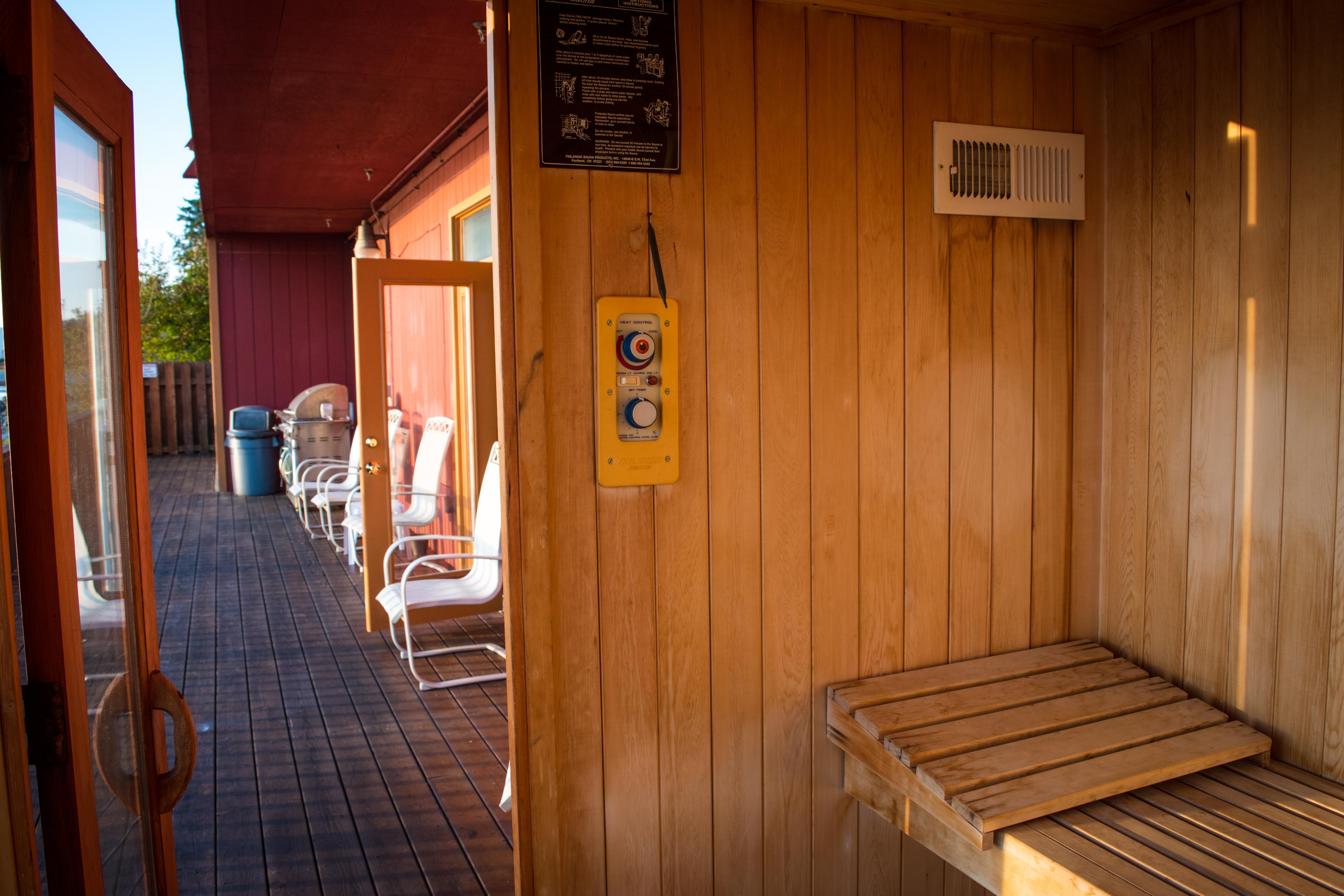 Saunas in Sitka Alaska