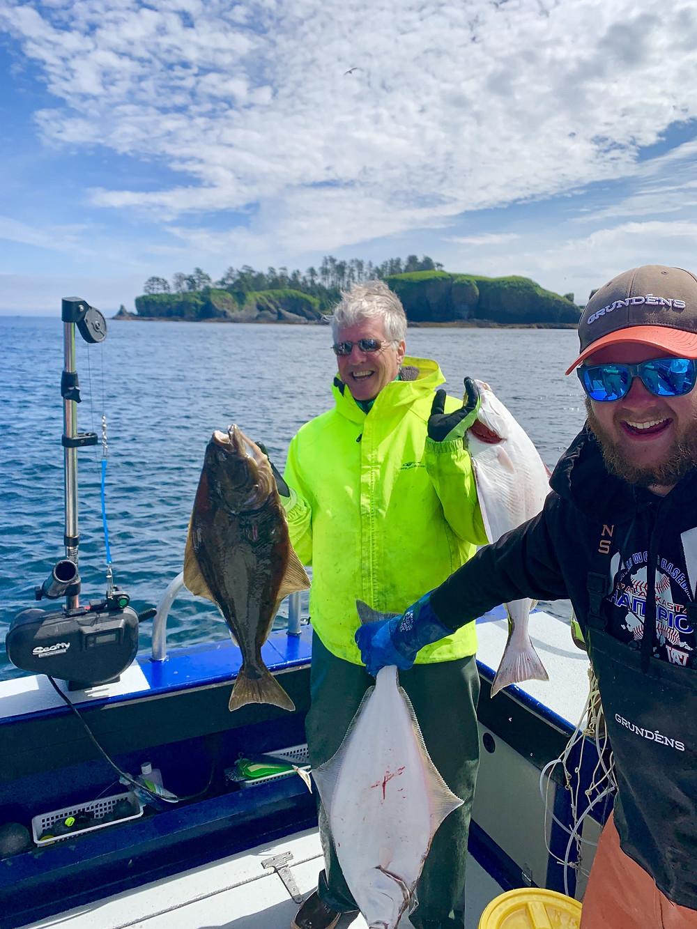 Halibut fishing trips in Sitka Alaska