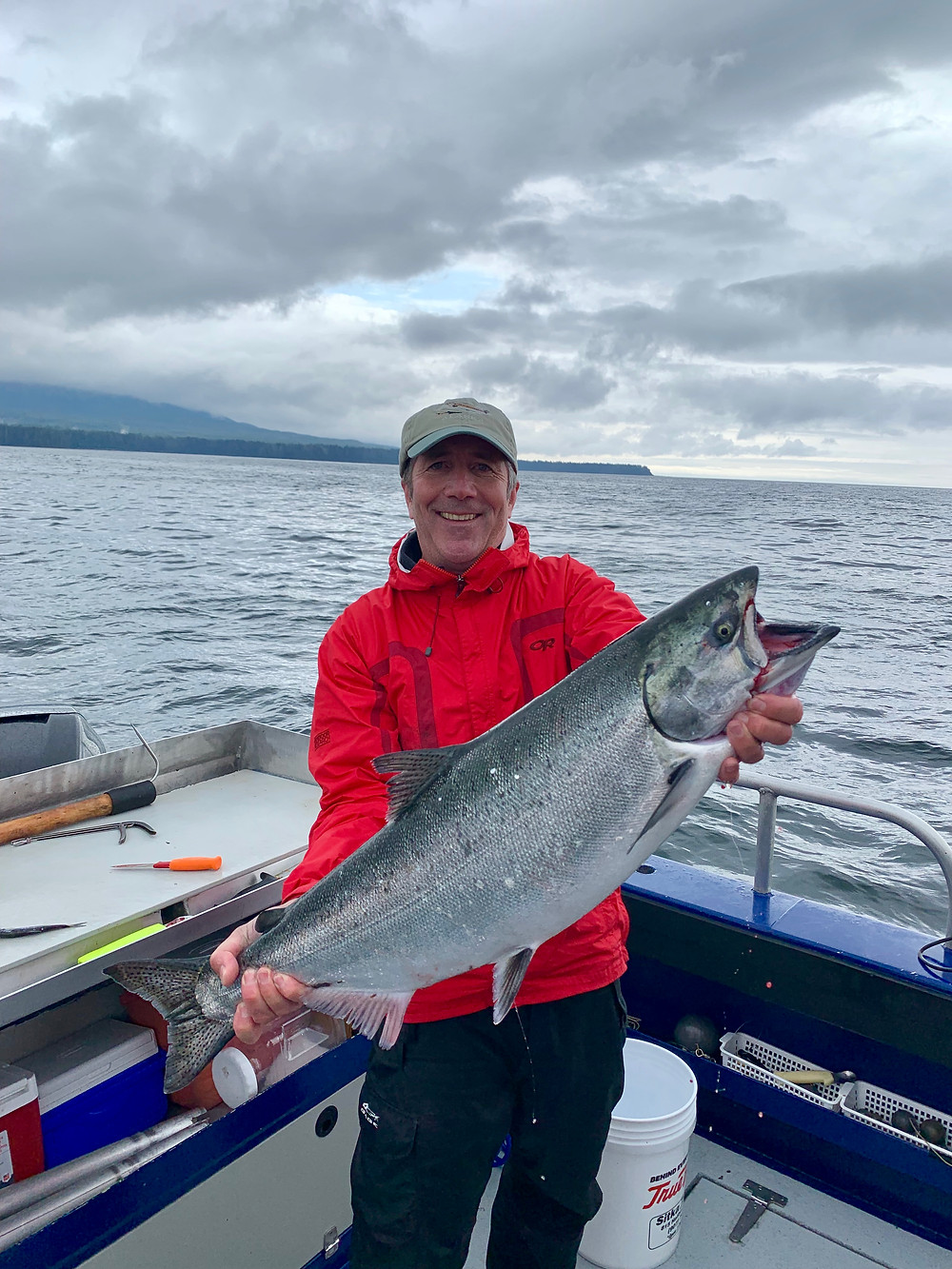 King salmon fishing in Sitka Alaska