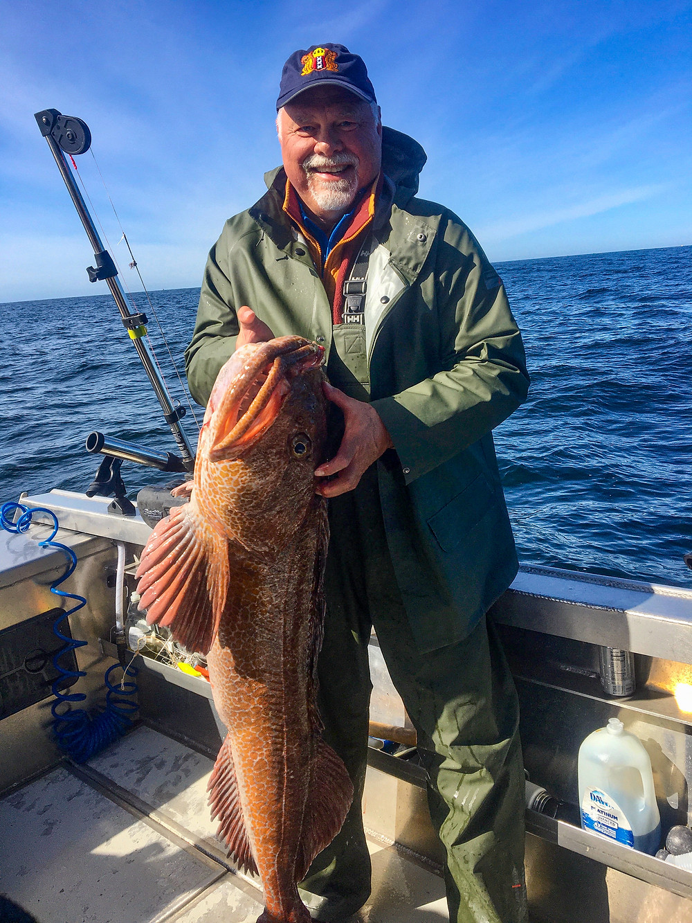 Lingcod Fishing Trips in Alaska