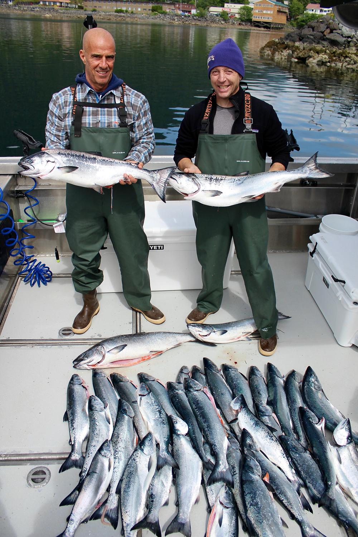 salmon fishing charters sitka alaska
