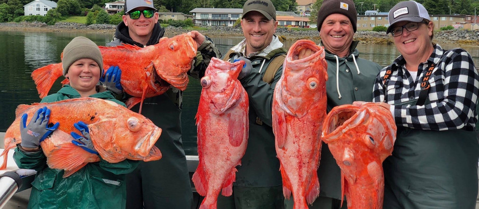 Shortraker Rockfish | Alaska Deep Sea Fishing