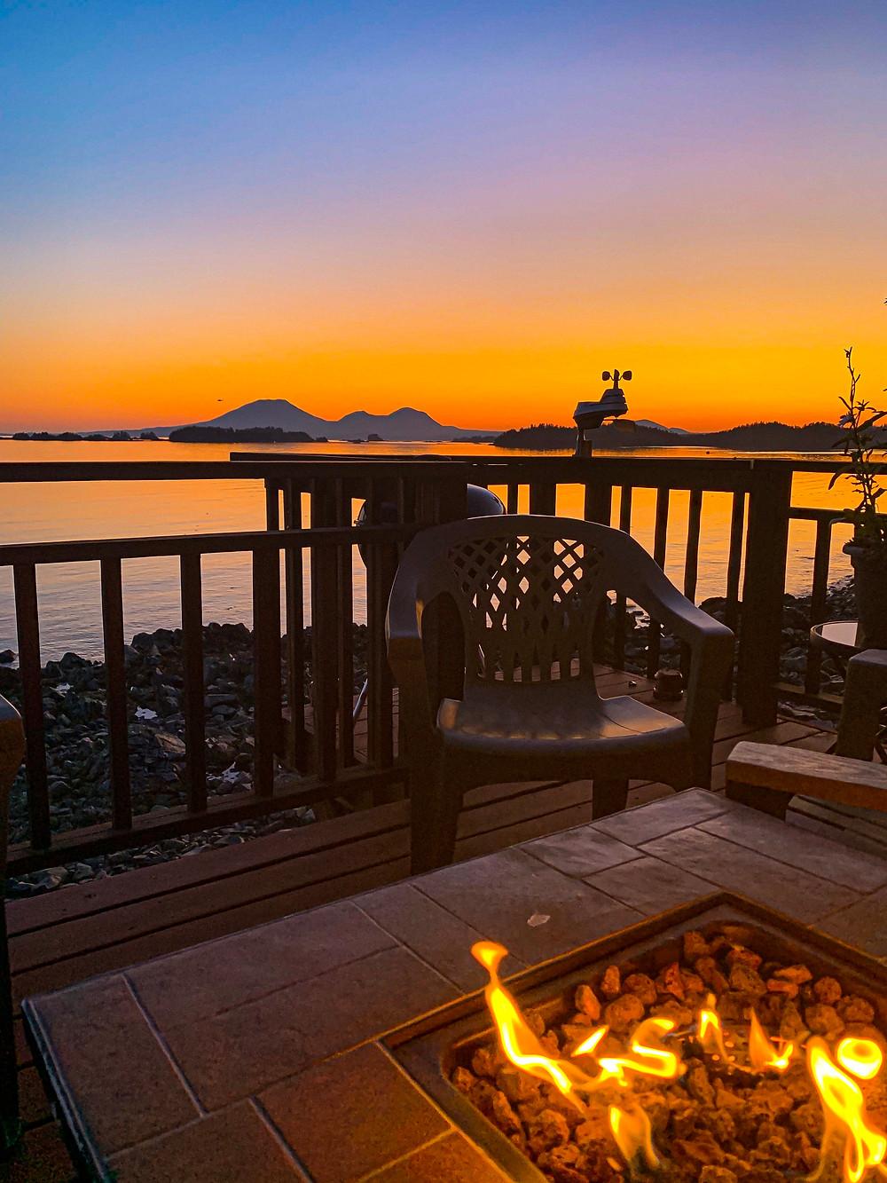 Oceanside accommodations in Sitka Alaska