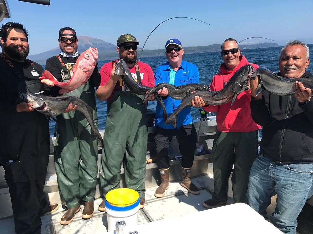 black cod fishing trips alaska