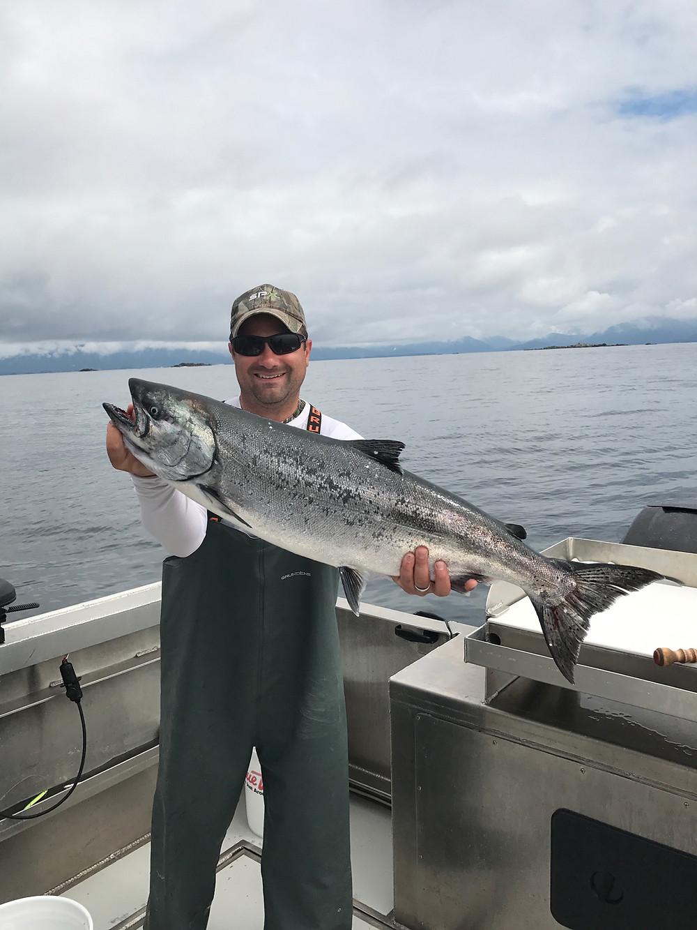 king salmon fishing charters sitka alaska