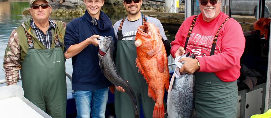 Sitka Fishing Report: June Recap - Mid July
