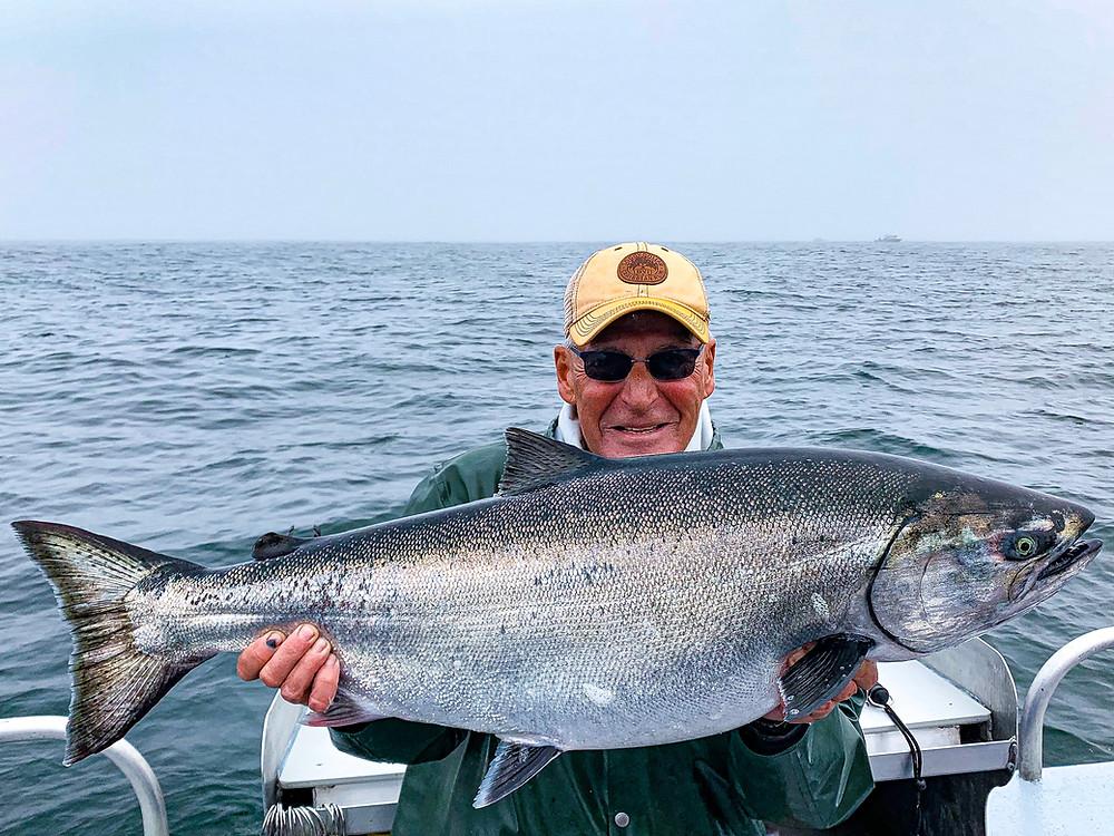 King salmon fishing trips in Alaska