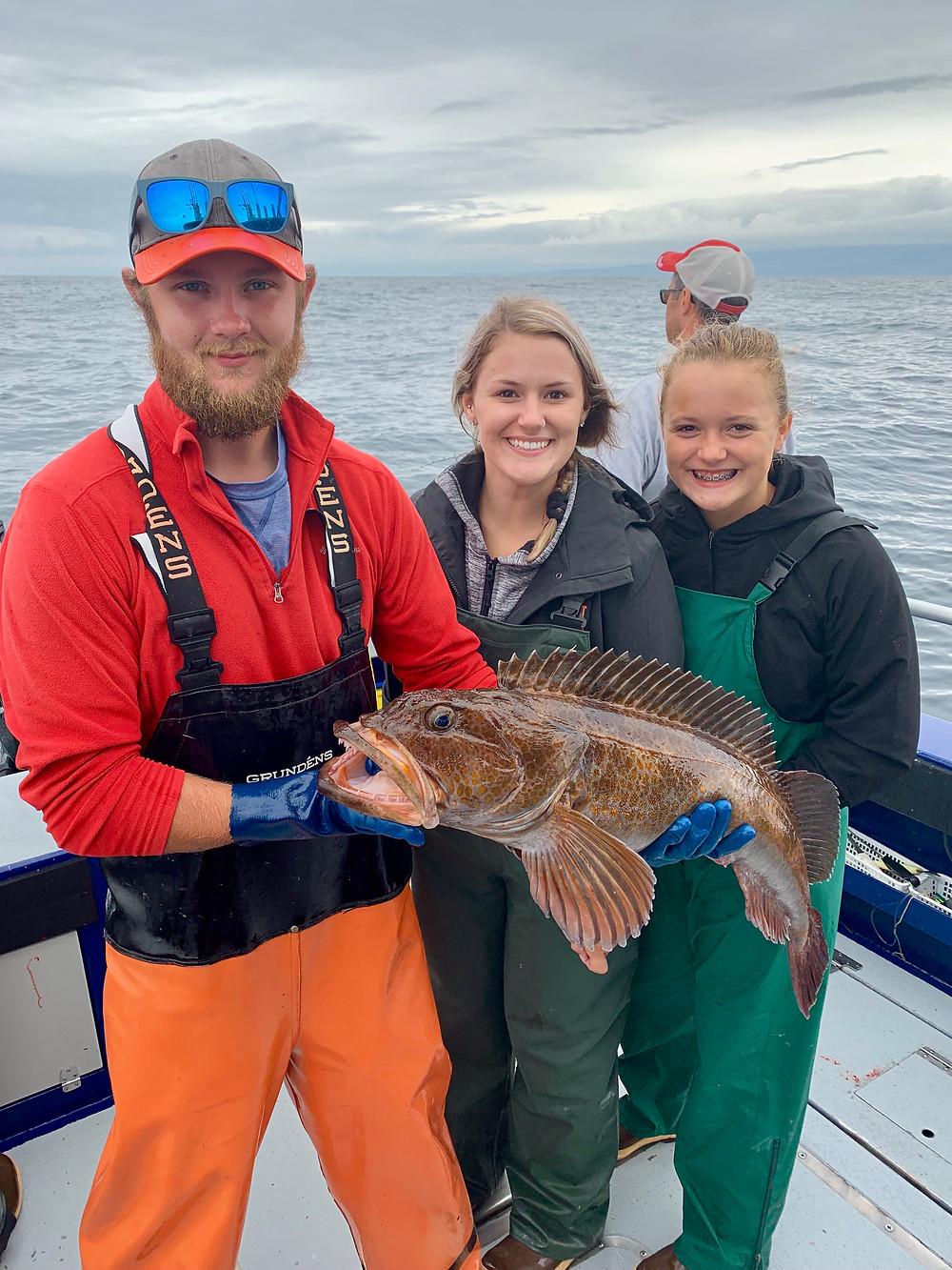 Ling cod fishing Alaska